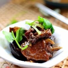 香菇烧鸭肉