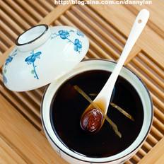 蜜枣红糖姜水的做法