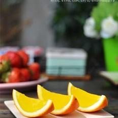 橙子果冻 的做法