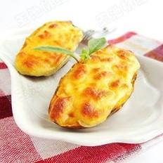 奶酪焗红薯的做法