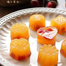 橘子果冻的做法