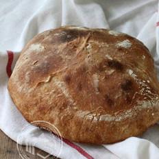 夏巴達拖鞋面包的做法
