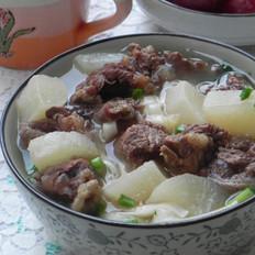 清汤萝卜牛腩面  的做法