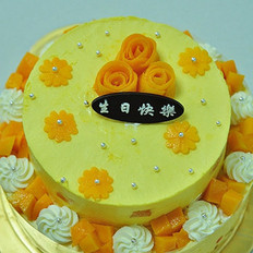 芒果慕斯&芒果芝士蛋糕  的做法