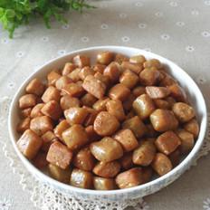 五香蛋酥棋子豆  的做法