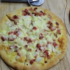 洋葱火腿披萨