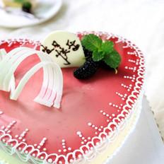 桑葚芝士蛋糕