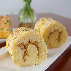 肉松香蔥面包卷的做法
