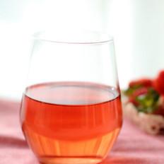 自制草莓酵素汁的做法