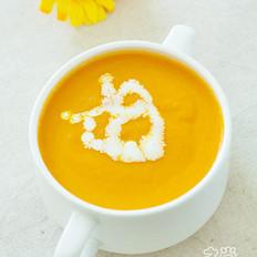奶油胡萝卜汤的做法