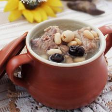 白扁豆龙骨汤的做法