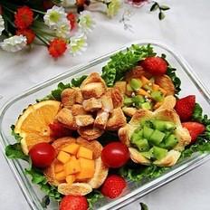 水果便当的做法
