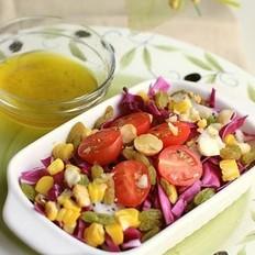 油醋汁蔬果沙拉的做法