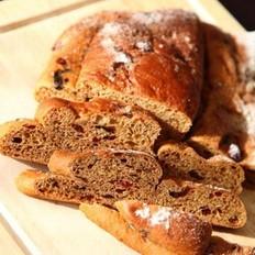 圣誕史多倫面包的做法