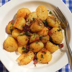 香煎锅巴土豆的做法