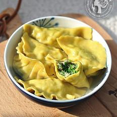 咖喱荠菜猪肉饺的做法