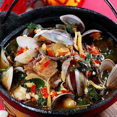 牛排海螺煲