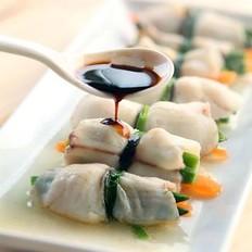 芦笋鱼片卷
