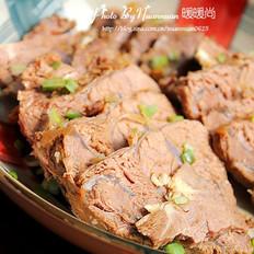 自制香辣卤牛肉  的做法