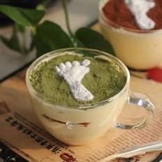 抹茶提拉米苏的做法