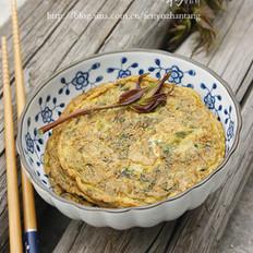 香椿煎蛋饼的做法