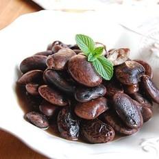 冰糖黑芸豆的做法