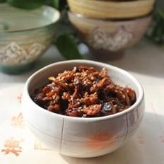萝卜肉丁拌饭酱的做法