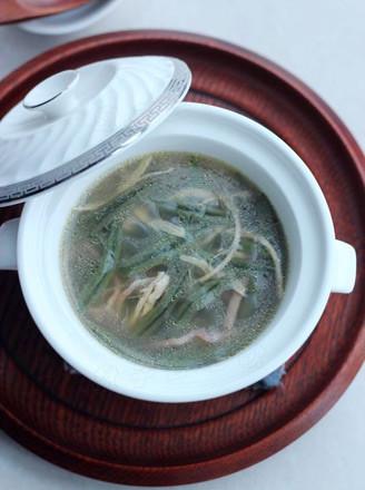 西湖莼菜羹的做法