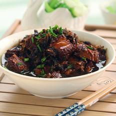 梅干菜炖子排的做法