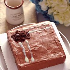 香浓巧克力牛奶慕斯的做法