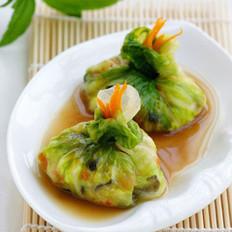 鲜虾碧玉生菜饭包的做法