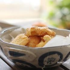 糖渍苹果饼干的做法