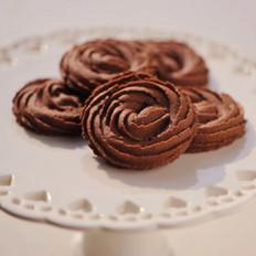 黑巧椰香曲奇脆餅的做法