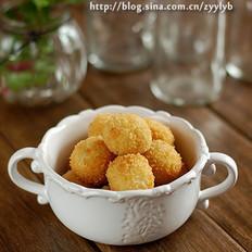 黄金薯球的做法