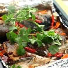 酱烤包头鱼的做法