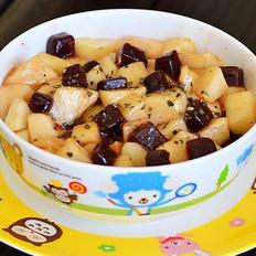 山楂糕熘苹果的做法