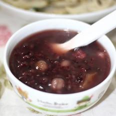 红薯紫米粥的做法