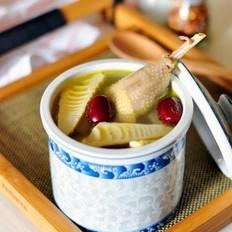 春笋煨土鸡的做法
