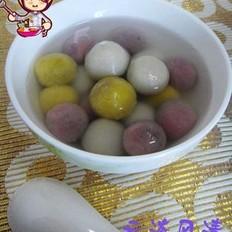 水果汤圆 的做法