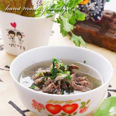特色羊杂汤的做法