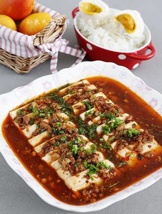 巧蒸香辣豆腐的做法