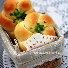 蔥花面包的做法