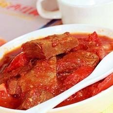 番茄燉牛肉的做法