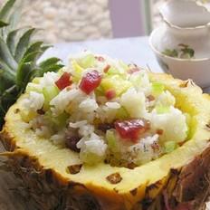 菠萝火腿炒饭的做法