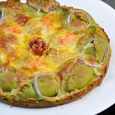 菠菜海鮮披薩的做法