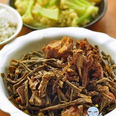 干豆角燉排骨的做法