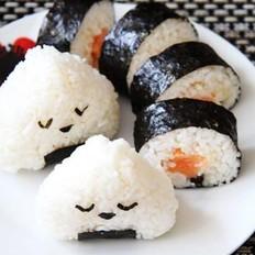 三文鱼寿司卷的做法