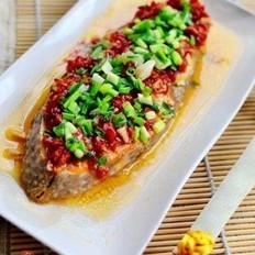 剁椒蒸海鱼块的做法