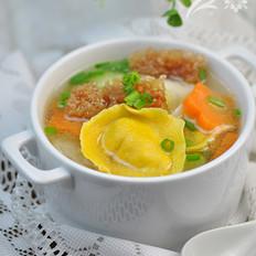 海茸金银饺的做法