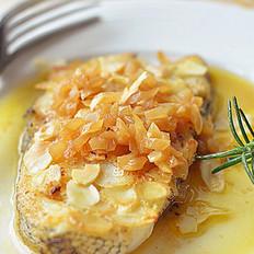 香煎杏仁鳕鱼的做法